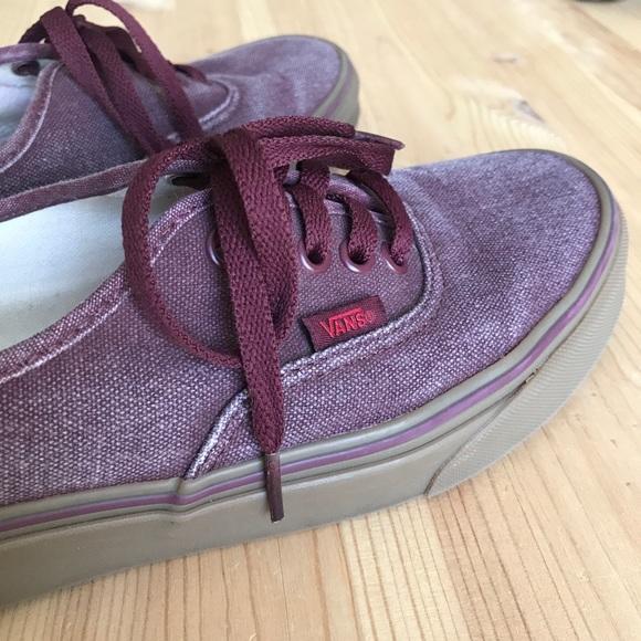 307a495a00ee5c Vans Shoes - Women s vans authentic low pro size 8.5